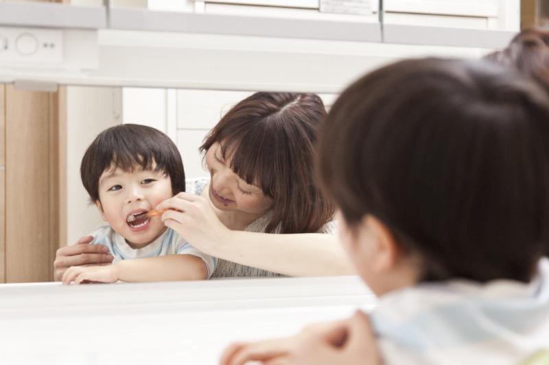 子供の自立心を育む洗面