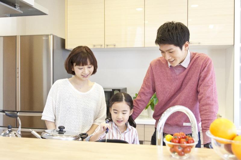 親子の絆を深めるキッチン